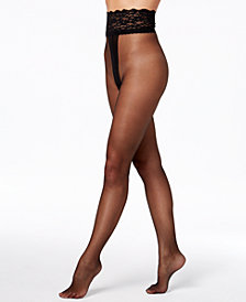 Berkshire SexyHose Sheer-to-Lace-Waist Sheers 4917