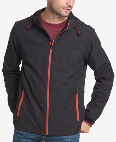 G.H. Bass & Co. Men's Explorer Hooded Rain Jacket - Coats ...