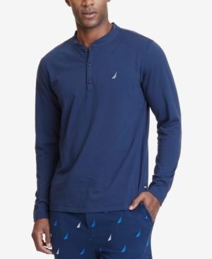 Nautica Men's Henley Pajama Shirt