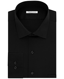 Men's Big and Tall Classic-Fit Wrinkle Free Flex Collar Stretch Solid Dress Shirt