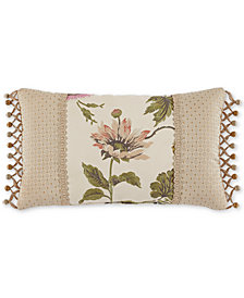 "Croscill Daphne 20"" x 12"" Boudoir Decorative Pillow"