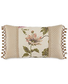 "Croscill Daphne 20"" x 12"" Boudoir Decorative Pillow"