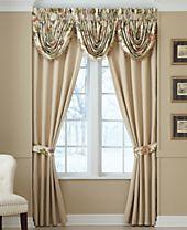 "Croscill Daphne 82"" x 84"" Pole Top Pair of Window Panels"