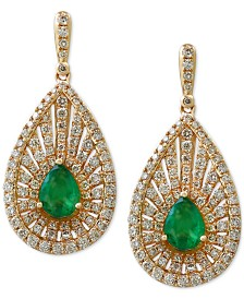 Effy Final Call Emerald 1 8 Ct T W And
