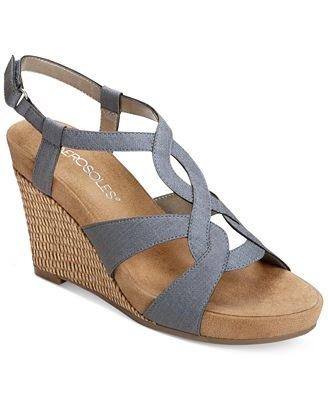 Aerosoles Fabuplush Wedge Sandals