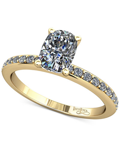 Diamond Mount Setting (1/5 ct. t.w.) in 14k Gold