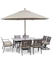 963d5dad5f Wayland Outdoor Aluminum 8-Pc. Dining Set (64