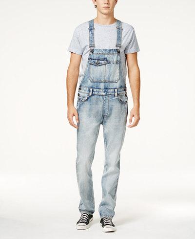 American Rag Men's Porter Cotton Overalls, Created for Macy's