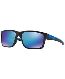 Oakley Polarized Mainlink Prizm Sapphire Sunglasses, OO9264 57