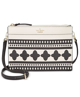 kate spade new york Cameron Street Lantern Tile Small Clarise Crossbody