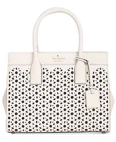 kate spade new york Cameron Street Perforated Small Candace Satchel