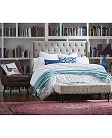 Marcone Wingback Headboards, Quick Ship