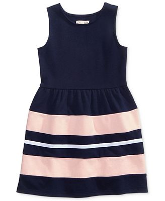 Maison Jules Mommy & Me Striped Dresses, Only at Macy\'s - Sets ...
