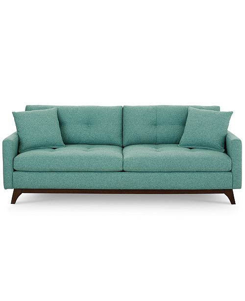Furniture Nari 83 Fabric Tufted Sofa Created For Macy S