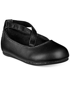 Baby Girls Cross-Strap Ballet Flats, Created for Macy's