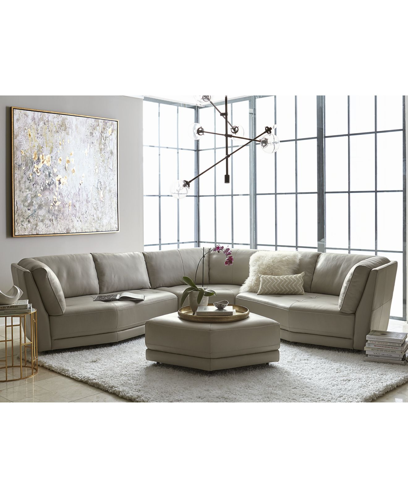 grey sectional Shop for and Buy grey sectional line Macy s