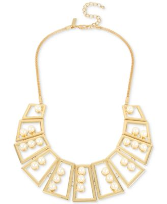 Image of M. Haskell for INC International Concepts Geometric Statement Necklace, Only at Macy's