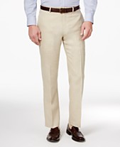 191354c9323 Lauren Ralph Lauren Men s Classic-Fit Solid Linen Dress Pants