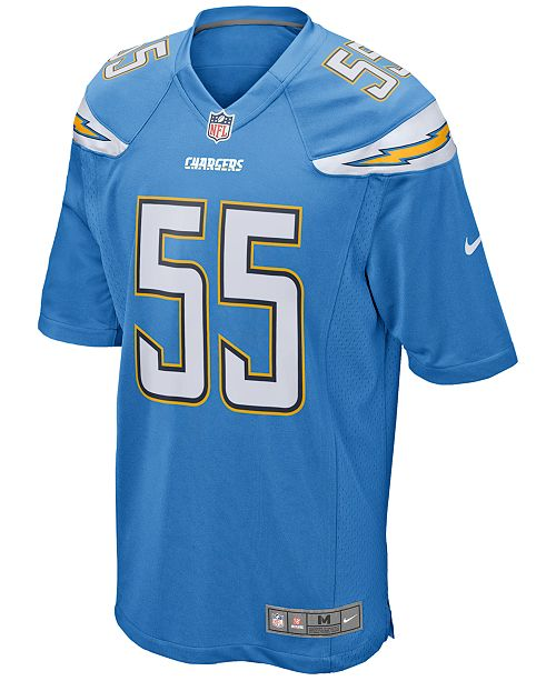 on sale 27982 105cb Nike Men's Junior Seau San Diego Chargers Retired Game ...