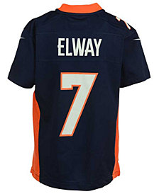 Nike John Elway Denver Broncos Game Jersey, Big Boys (8-20)