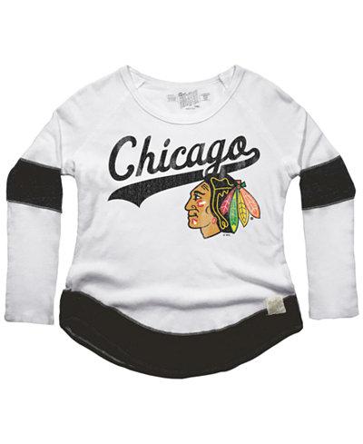 Retro Brand Women's Chicago Blackhawks Faceoff Thermal Long Sleeve T-Shirt