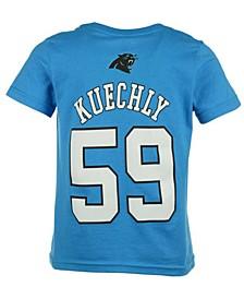 Luke Kuechly Carolina Panthers Mainliner Player T-Shirt, Toddler Boys