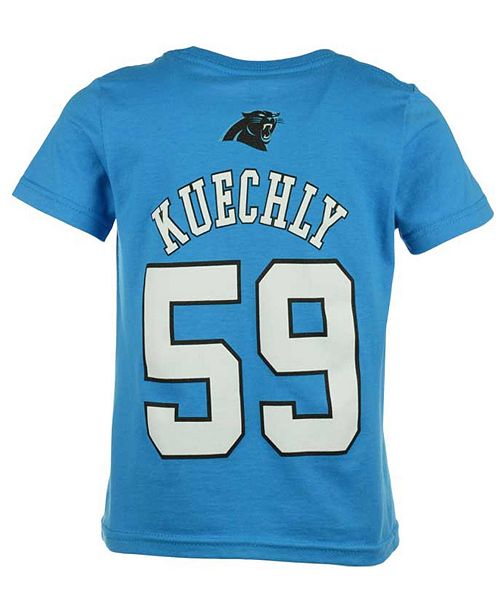 7f9282b2c15 Outerstuff Luke Kuechly Carolina Panthers Mainliner Player T-Shirt ...