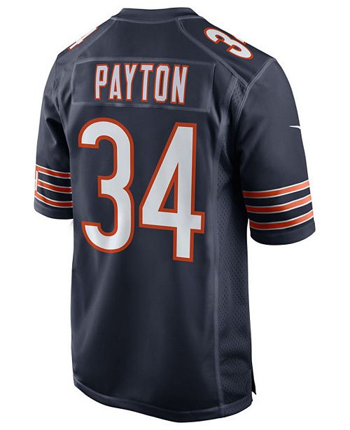73c4b294e Nike Men s Walter Payton Chicago Bears Retired Game Jersey - Sports ...