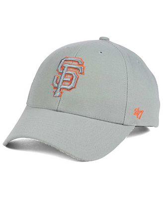 '47 Brand San Francisco Giants MVP Gray TC Pop Cap