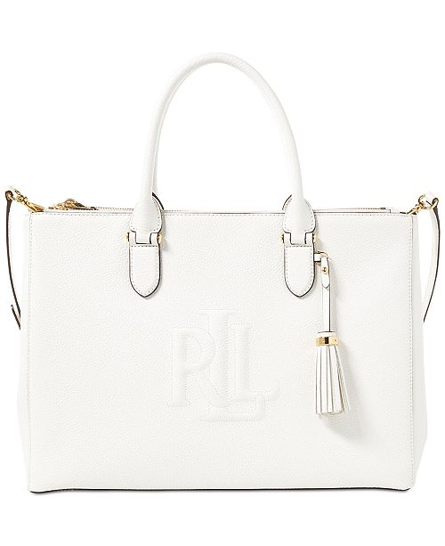 fc2388b507 Lauren Ralph Lauren Anstey Double Zip Satchel   Reviews - Handbags ...