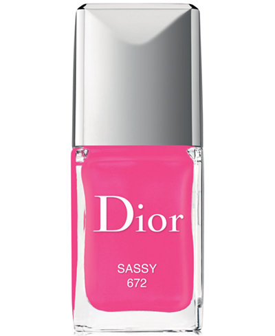 Dior Vernis Gel Shine & Long Wear Nail Lacquer - Sassy, Created ...
