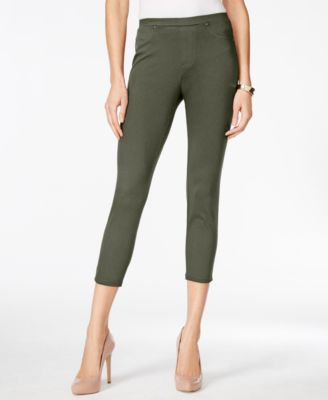 Image of Style & Co Twill Capri Leggings, Only at Macy's