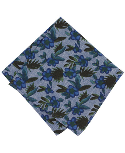 Bar III Men's Rio Dosa Floral Pocket Square, Created for Macy's