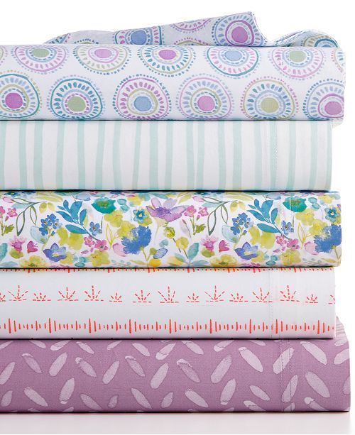 bluebellgray CLOSEOUT! 230 Thread Count Printed Full Sheet Set