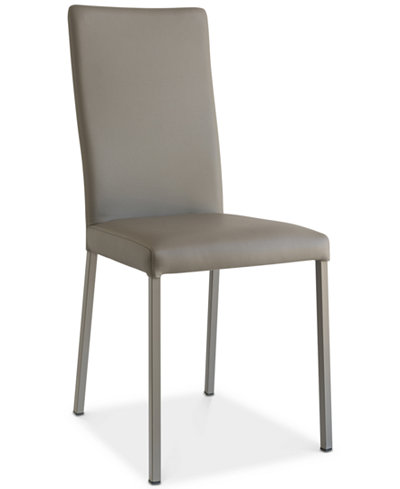 CLOSEOUT! Macchiato Upholstered Dining Chair