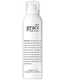 philosophy pure grace body serum mousse, 4.8 oz