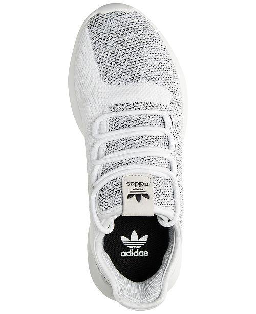 47029c4aedfa ... adidas Big Girls    Tubular Shadow Knit Casual Sneakers from Finish ...