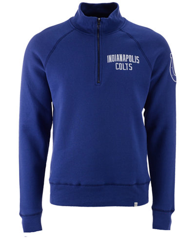 '47 Brand Men's Indianapolis Colts Crosscheck Quarter-Zip Pullover