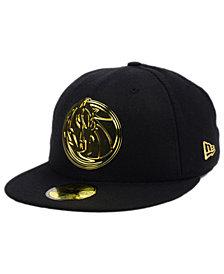 New Era Dallas Mavericks Current O'Gold 59FIFTY Cap