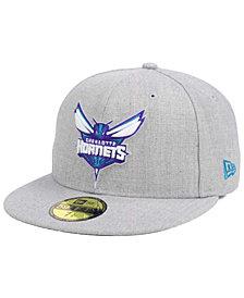 New Era Charlotte Hornets All Heather 59FIFTY Cap