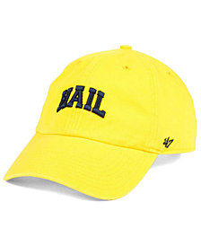 '47 Brand Michigan Wolverines CLEAN UP Cap