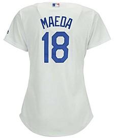 Women's Kenta Maeda Los Angeles Dodgers Cool Base Player Replica Jersey