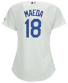 Majestic Women's Kenta Maeda Los Angeles Dodgers Cool Base Player Replica Jersey