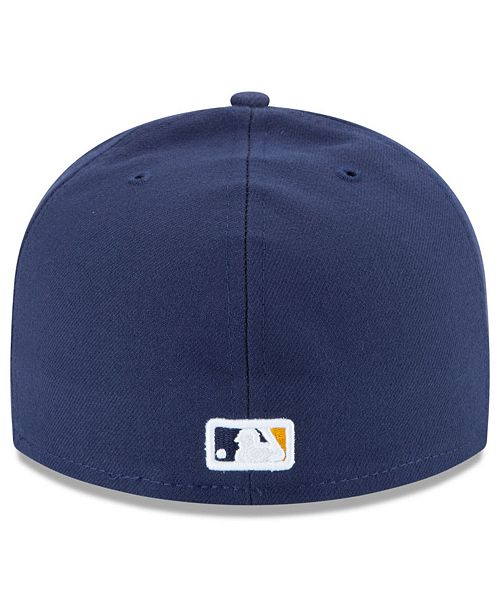 super popular 01edc fc0c2 New Era Milwaukee Brewers Authentic Collection 59FIFTY Cap ...