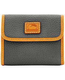 Dooney & Bourke Patterson Small Credit Card Flap Wallet