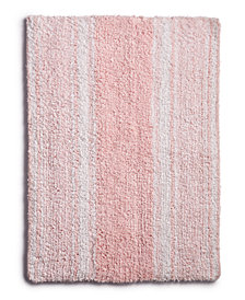 """Martha Stewart Collection Cotton Reversible 17"""" x 24"""" Bath Rug, Created for Macy's"""