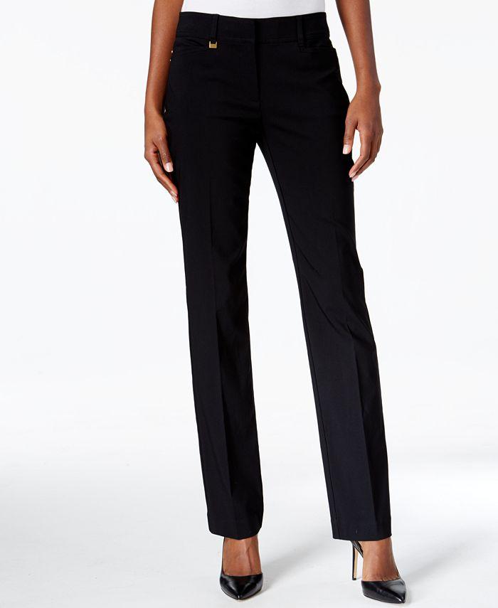 JM Collection - Petite Straight-Leg Pants