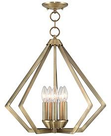 Prism 5- Light Metal Pendant