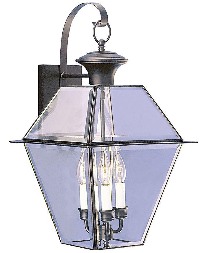Livex - Westover 3- Light Glass Sconce