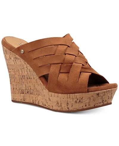 UGG® Marta Wedge Sandals